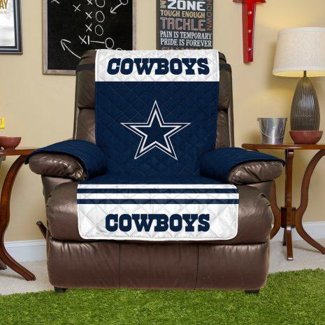 Dallas Cowboys Blue Recliner Protector