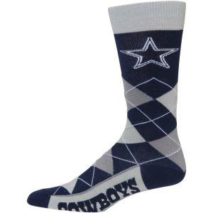 For Bare Feet Dallas Cowboys Argyle Crew Socks