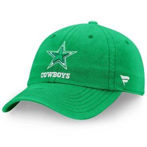 Men's Dallas Cowboys St. Patrick's Day Fundamental II Adjustable Hat