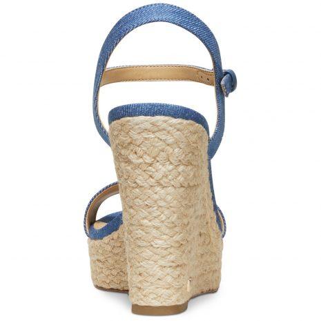 Michael Kors Jill Espadrille Wedge Sandals - Back