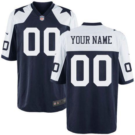 Nike Men's Dallas Cowboys Customized Throwback Game Jersey