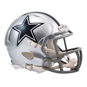 Riddell Dallas Cowboys Revolution Speed Mini Football Helmet