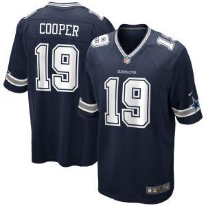 Amari Cooper Dallas Cowboys Nike Game Jersey – Navy