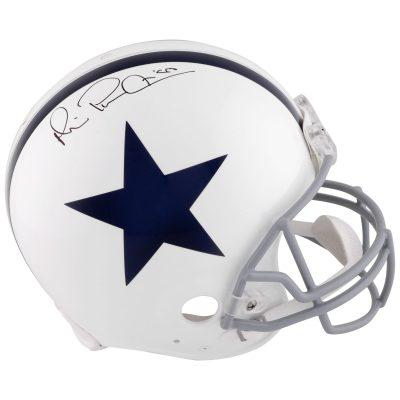 Michael Irvin Dallas Cowboys Fanatics Authentic Autographed Riddell Pro-Line Authentic Throwback Helmet